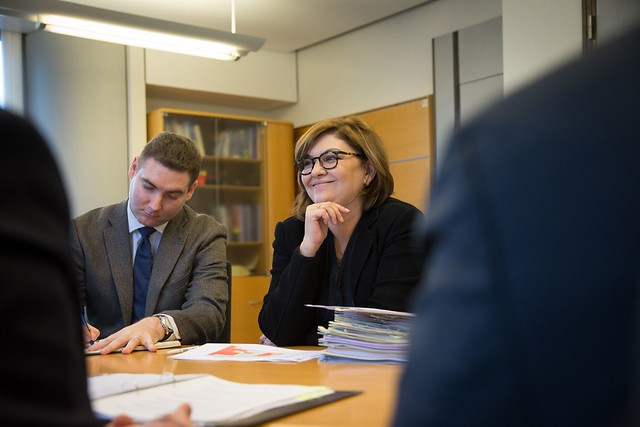 Adina Valean meets Estonian Environment Minister