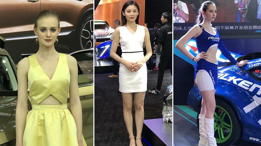 Девушки Шанхайского автосалона 2017