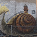 """Giant Snail"" mural by Mike Makatron by Franco Folini"