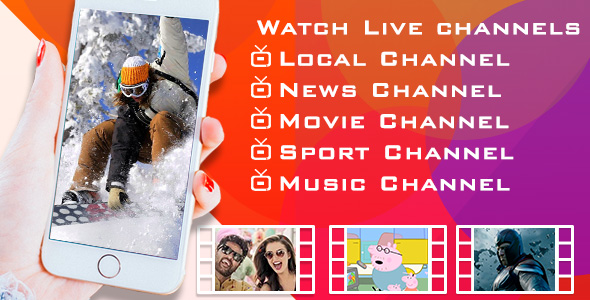 Live TV – Android app