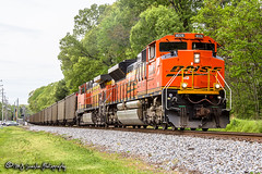 BNSF 9026 | EMD SD70ACe | NS Memphis District