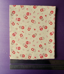 linen russian doll fabric