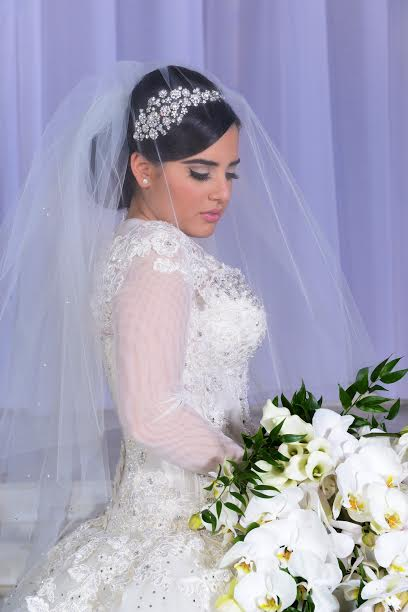 Liat | crystal flower headband - Bridal Styles Boutique -003