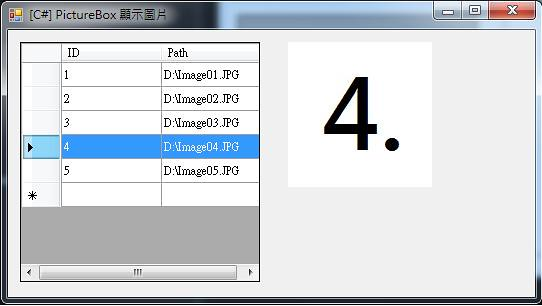 [C#] PictureBox 顯示圖片