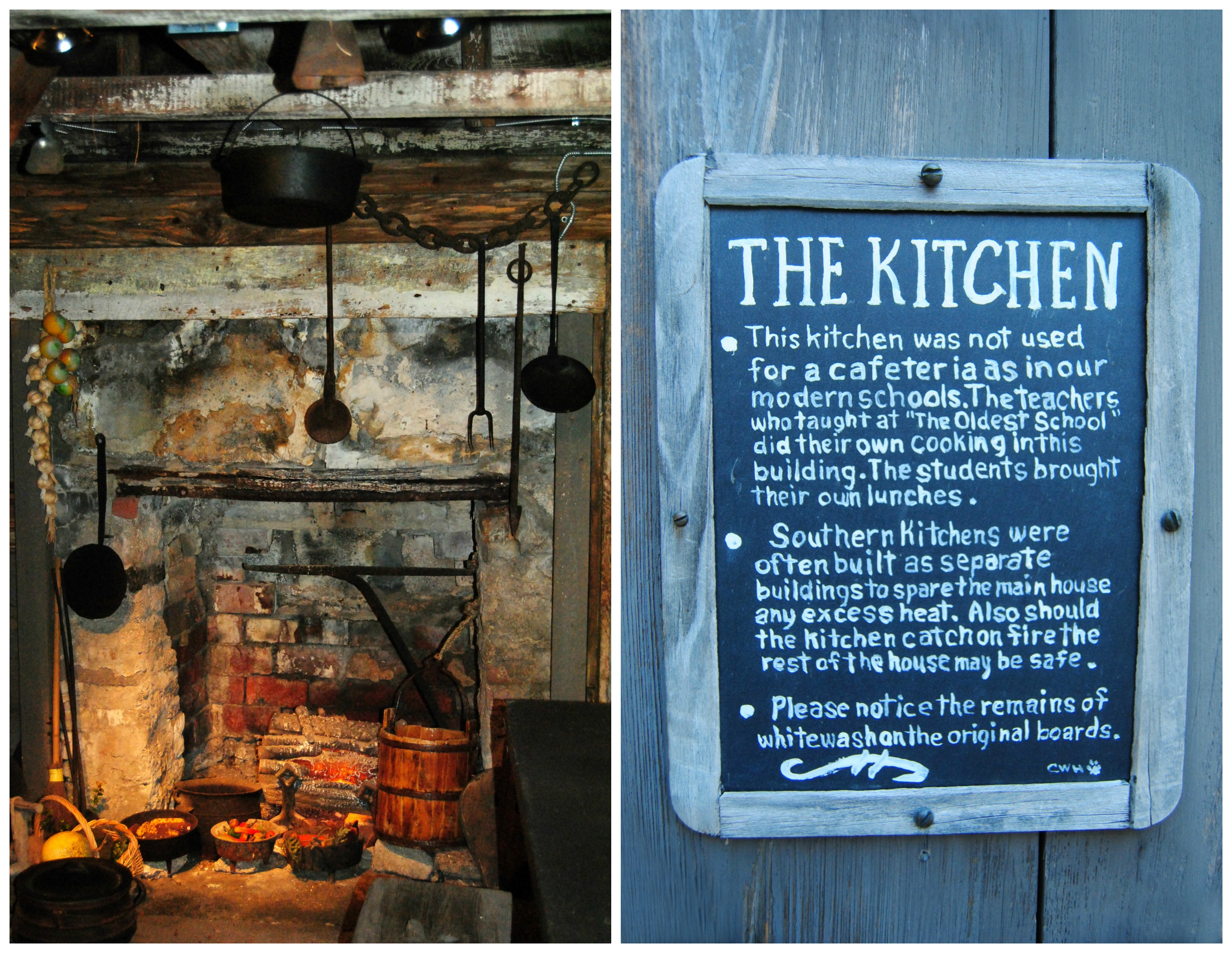 Oldest Wooden Schoolhouse_Kitchen