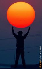 Sun at Hands