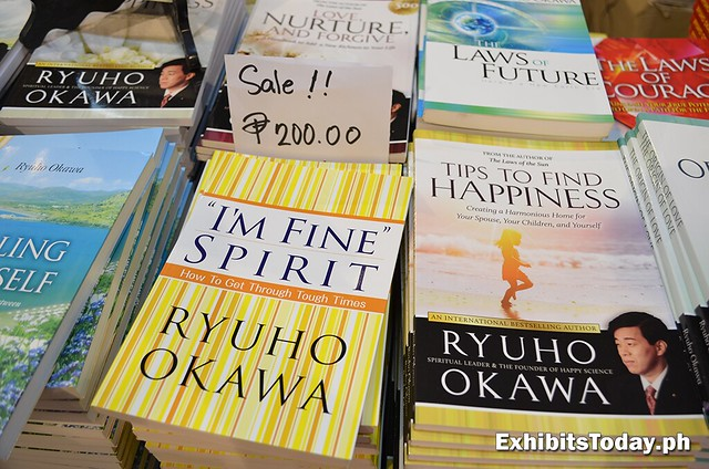 200 peso sale for Ryuho Okawa books