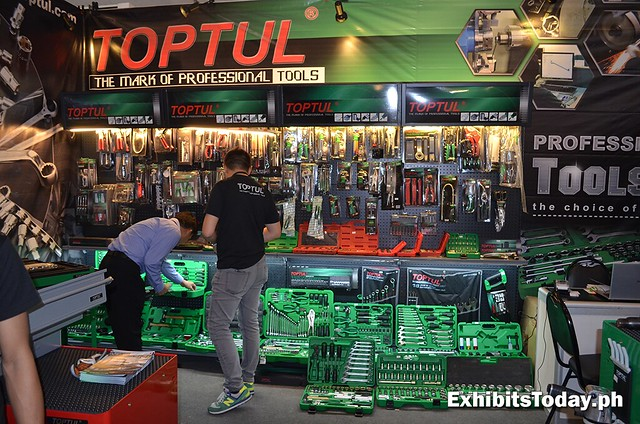 Toptul Exhibit Booth