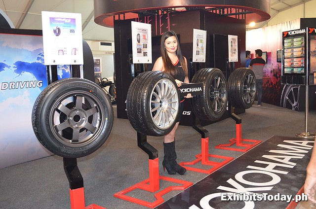 Yokohama Tires Booth