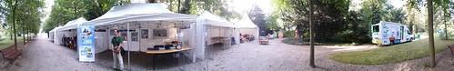 Le stand à la fête des parcs et jardins laccreteil.fr