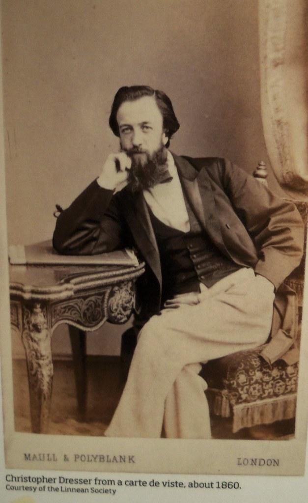 Dr Dressers Carte De Visite Copyright Of The Linnaen Society London