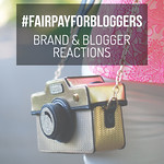 The Fair Pay for Bloggers Campaign - Reactions of Brands and Bloggers