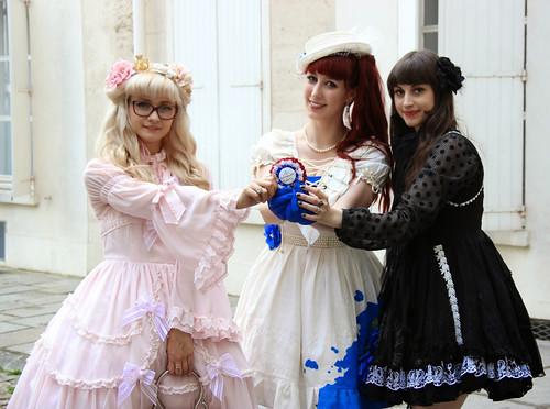 Three French Kawaii Ambassadors