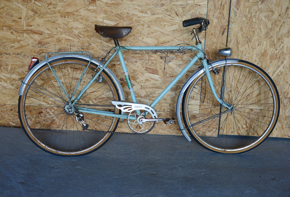 1950s Oscar Egg City Bike