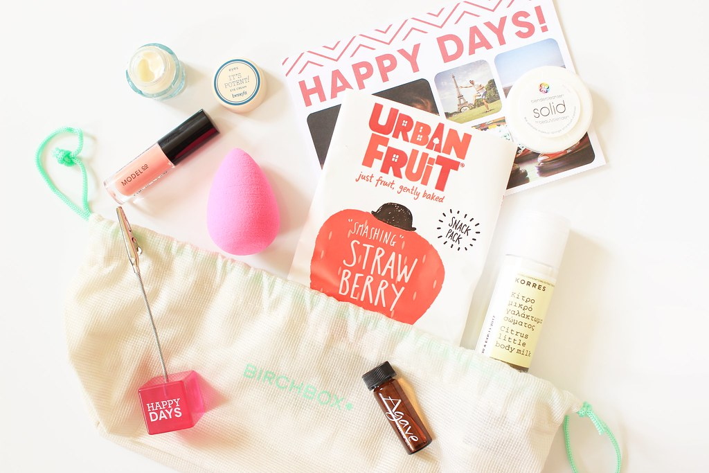 September Birchbox Happy Box Contents & Review