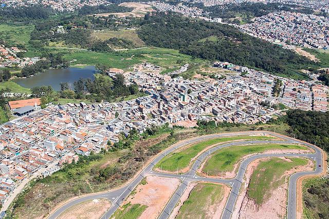 Vista Aérea Del Strip Las: Vista Aérea De Carapicuíba
