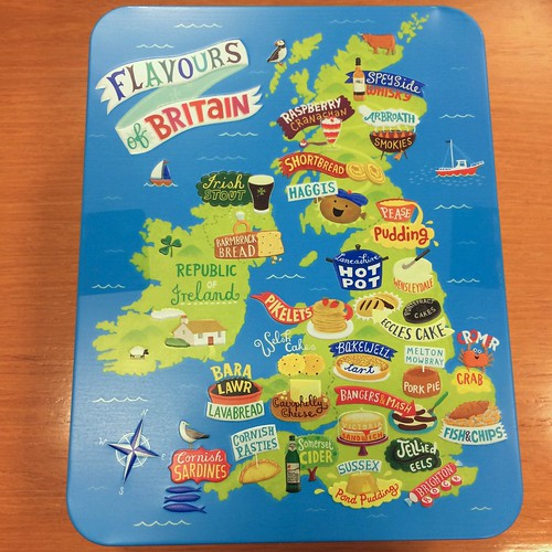 United Kingdom Biscuit Tin