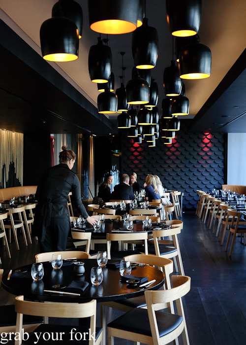 Dining room at Sokyo at The Star, Pyrmont