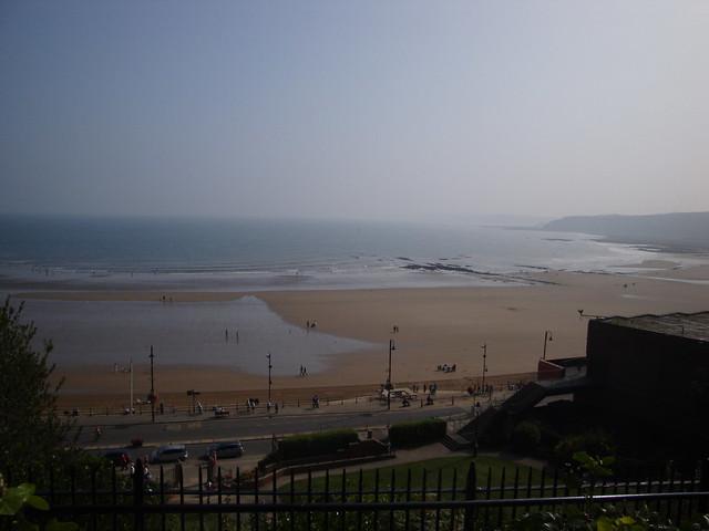 Sun, sea, sand at Scarborough