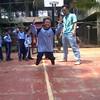 Senangnya lihat foto #vito enjoy pelajaran olahraga. Bu guru jaman sekarang ngerti banget kekepoan orangtua maka rajinlah beliau upload foto aktivitas anak2 selama sekolah :-)