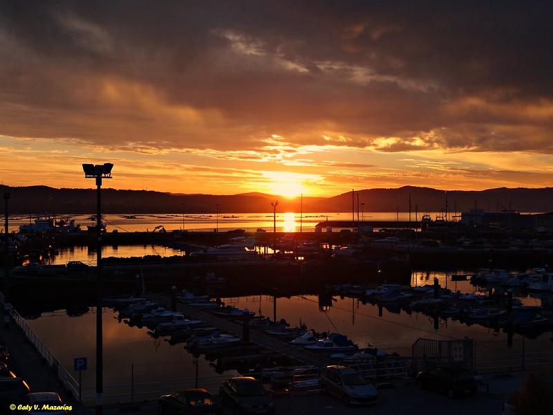 Sunrise in Muros, #Galicia, España.