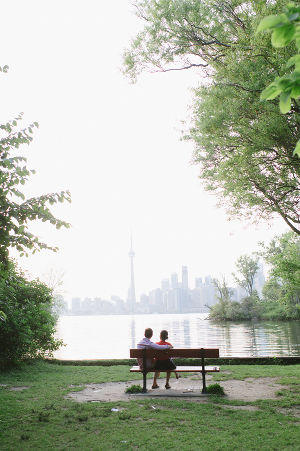 Yuka & Jonathan on the Toronto Islands