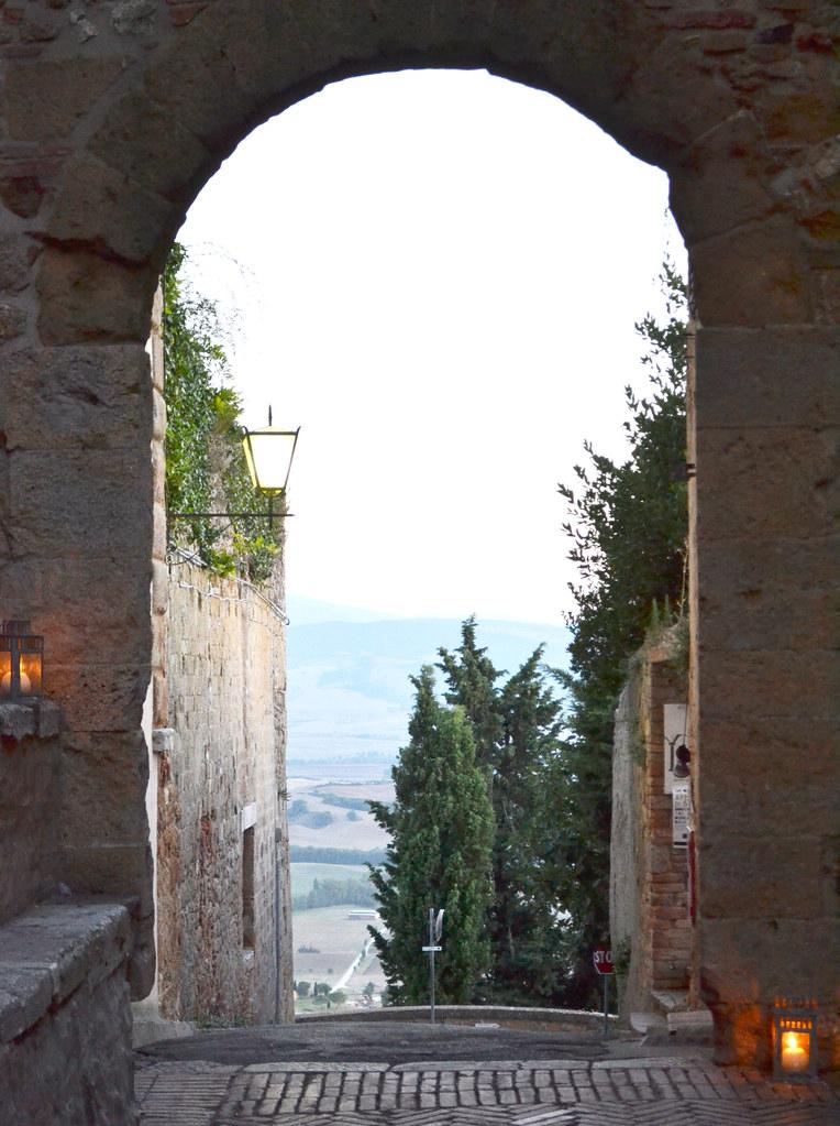Pienza, Toscane, Italie
