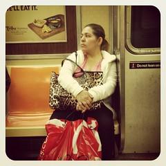 Friday afternoon R train. #nyc #nycsubwayportraits #brooklyn #train #subway #publictransportation #commute #Rtrain