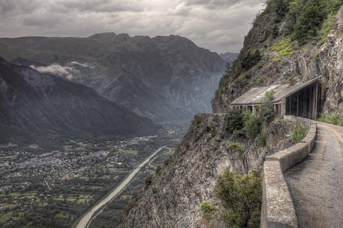 road mountain france spectacular landscape cycling borg vista tourdefrance hdr frenchalps landscapephotography doisans
