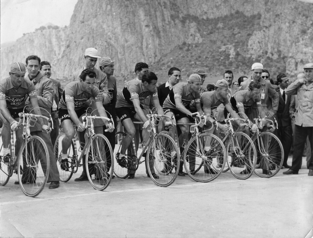 Giro d'Italia 1954 Genova - cronosquadre