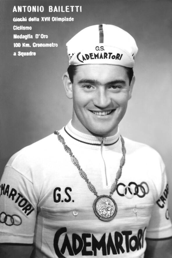 Medaglia d'oro XVII Olimpiade