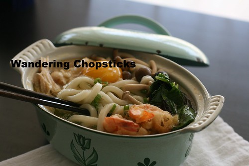 Nabeyaki Udon (Japanese Hot Pot Thick Noodle Soup) 13