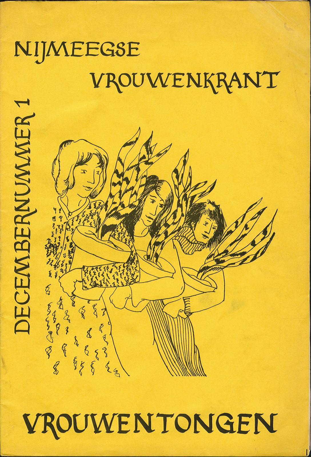 1977 Vrouwentongen Nijmeegse vrouwenkrant