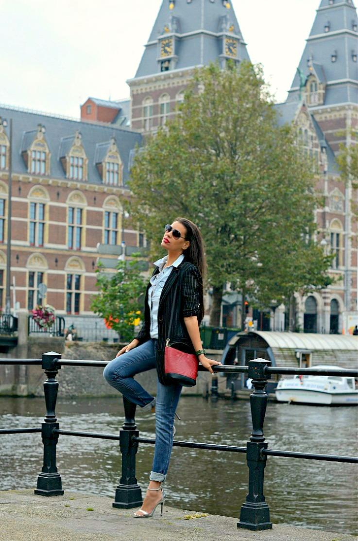 DSC_8247 Denim On Denim, Zara bag, Amsterdam(5)
