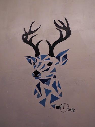 Triangle stencil by Von Dieche