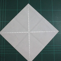 วิธีพับกระดาษเป็นรูปเต่าแบบง่าย (Easy Origami Turtle) 001