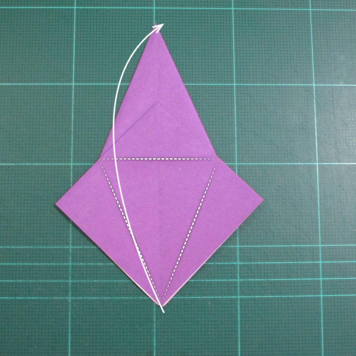 วิธีพับกระดาษเป็นรูปเต่าแบบง่าย (Easy Origami Turtle) 007
