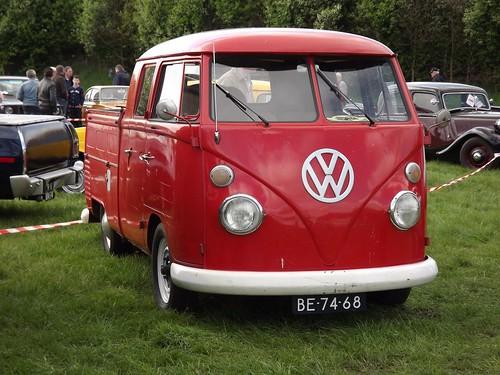 BE-74-68 Volkswagen Transporter Dubbelcabine 1964