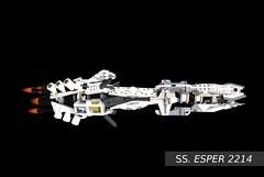 SS. Esper Side View (black background)