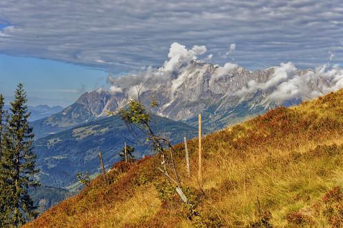 salzburg austria österreich herbst berge alm alpen wandern stjohannimpongau bergpanorama bischofshofen
