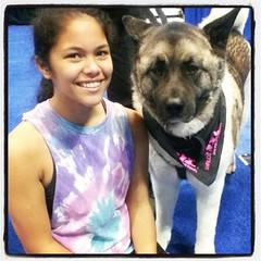 Bec's new friend :)