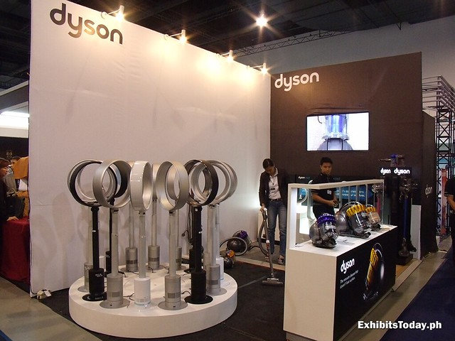 Dyson Vacuum Cleaners Booth