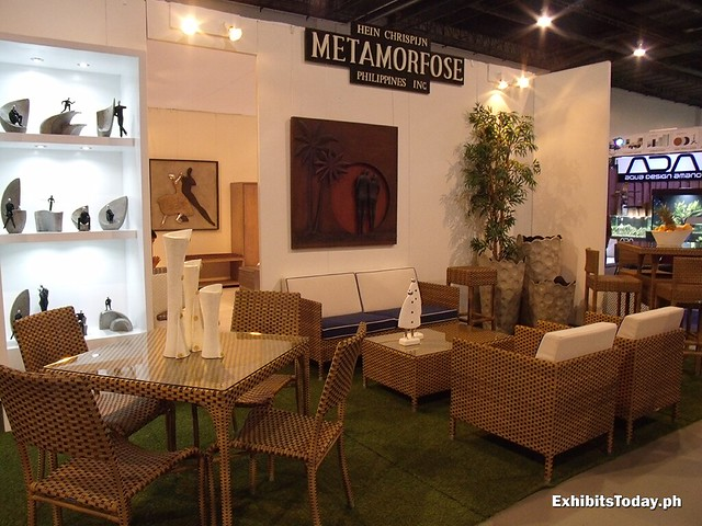 Hein Chrispijn Metamorfose Philippines Exhibit Booth