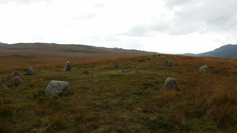 Stone circle on Eskdale Moor #sh