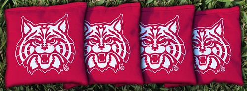 ARIZONA WILDCATS RED CORNHOLE BAGS
