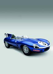 race car, model car, automobile, vehicle, performance car, automotive design, jaguar d-type, land vehicle, sports car,