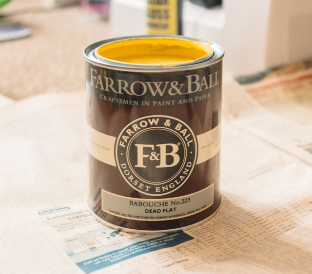 farrow & ball - babouche