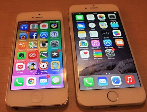 iPhone 5 and iPhone 6