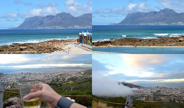 Kapstadt Ausblick vom Tafelberg