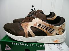 Puma Trinomic Disc Camo Size: 13 New With Box